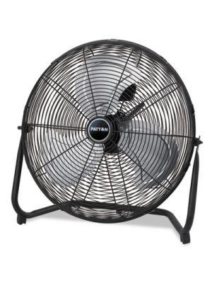High Velocity Fan, Three-Speed, Black, 24 1/2