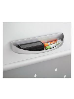 Rumba™ Whiteboard Screen Accessories, Eraser Tray, 12 1/4 x 2 1/4, Silver