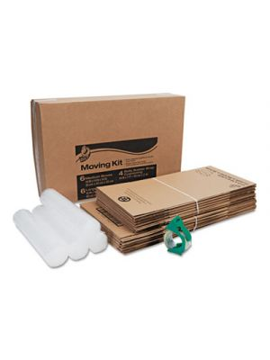 Moving Kit, Assorted Dimensions, Assorted Colors, 12/Pack