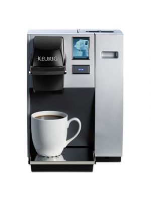 K150P Plumbed Brewing System, Silver/Black, 10.4W x 14D x 13.9H