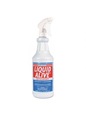 LIQUID ALIVE Enzyme Digestant Carpet/Textile Cleaner/Deodorizer, 1gal Bottle