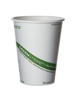 GreenStripe Renewable & Compostable Hot Cups - 12 oz., 50/PK, 20 PK/CT