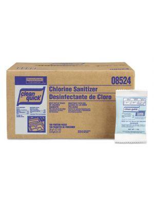 Powdered Chlorine-Based Sanitizer, 1oz Packet, 100/Carton