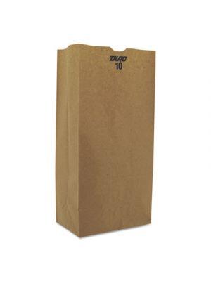 #10 Paper Grocery, 57lb Kraft, Extra-Heavy-Duty 6 5/16x4 3/16 x13 3/8, 500 bags