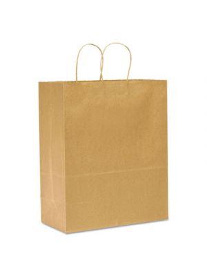 #65 Paper Shopping Bag, 65lb Kraft, Heavy-Duty 13 x 7 x 17, 250 bags