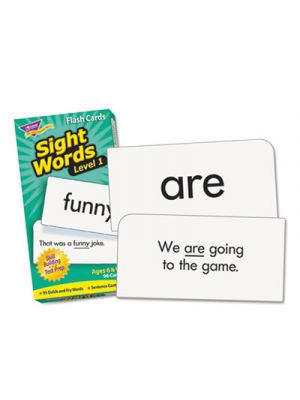 Skill Drill Flash Cards, 3 x 6, Sight Words Set 1