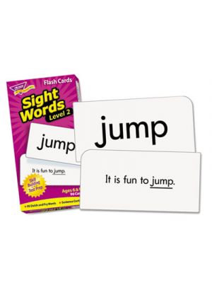 Skill Drill Flash Cards, 3 x 6, Sight Words Set 2