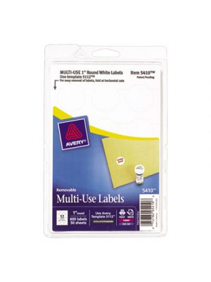 Removable Multi-Use Labels, 1
