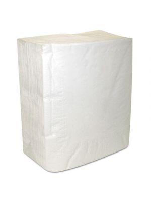 Select Dinner Napkins, 2-Ply, White, 16 3/4 x 14 3/4, 150/Pack, 20 Packs/Carton
