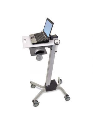 Neo-Flex Laptop Cart, 20w x 28 7/8d x 26 5/8-46 5/8h, Two-Tone Gray