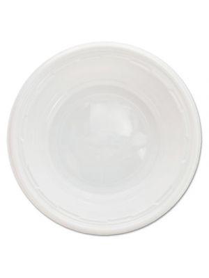 Famous Service Impact Plastic Dinnerware, Bowl, 5-6 oz, White, 125/Pack