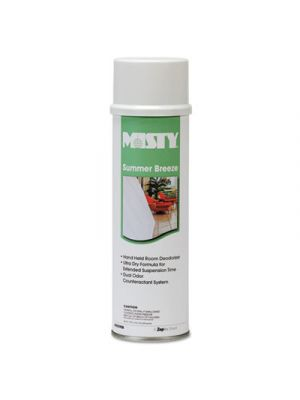 Handheld Air Deodorizer, Summer Breeze, 10oz Aerosol, 12/Carton