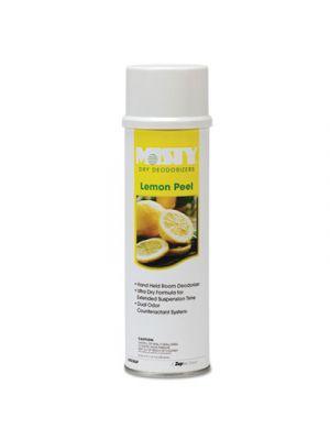 Handheld Air Deodorizer, Lemon Peel, 10oz Aerosol, 12/Carton