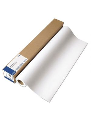 GS Production Canvas Satin Paper Roll, 54 x 150 ft, White