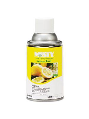 Metered Dry Deodorizer Refills, Lemon Peel, 7oz, Aerosol, 12/Carton