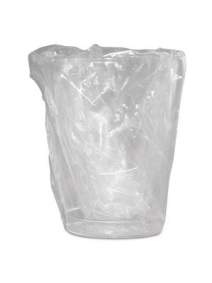 Wrapped Plastic Cups, 10oz, Translucent, 500/Carton
