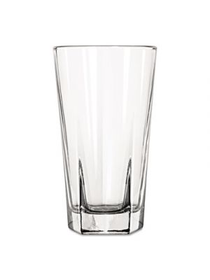 Inverness Glass Tumblers, Beverage, 12 oz, Clear, 36/Carton