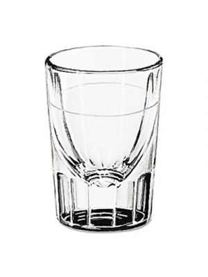 Whiskey Service Glasses, 1 oz, Clear, Tall Whiskey Shot Glass, 48/Carton