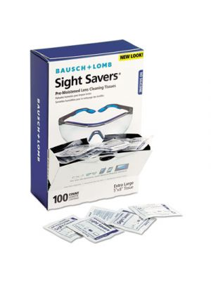 Sight Savers Premoistened Lens Cleaning Tissues, 100/Box, 10 Boxes/Carton
