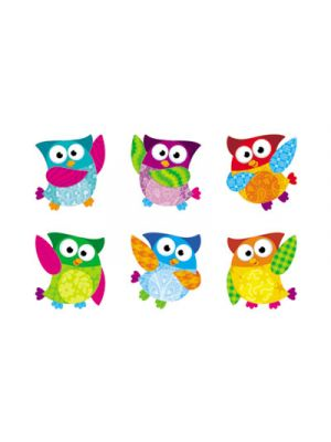 Owl-Stars! Classic Accents Variety Pack, 36 Pieces