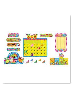 Owl-Stars! Calendar Bulletin Board Set, 17 1/2 x 23 1/4, 100 Pieces