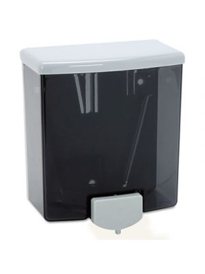 ClassicSeries Surface-Mounted Soap Dispenser, 40oz, Black/Gray