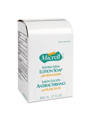 Antibacterial Lotion Soap Refill, Liquid, Light Scent, 800mL, 12/Carton