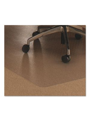 Cleartex Ultimat Polycarbonate Chair Mat for Low/Medium Pile Carpet, 48 x 60