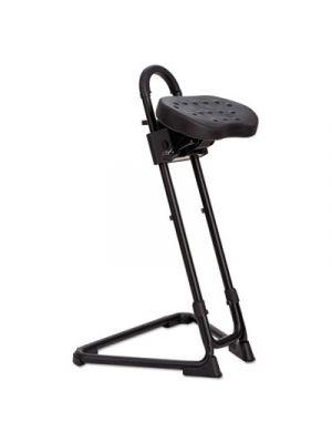 SS Series Sit/Stand Adjustable Stool, Black