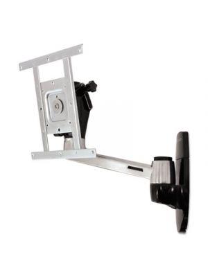 LX HD Wall Mount Swing Arm, Polished Aluminum