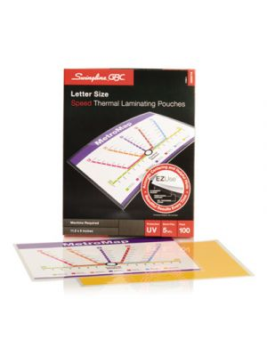 EZUse Thermal Laminating Pouches, 5mil, 11 1/2 x 9, 100/Box