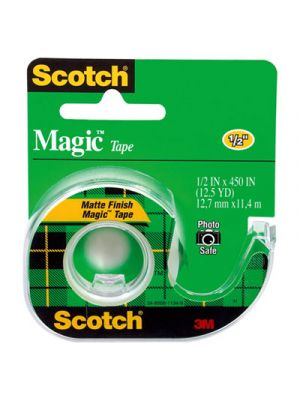 Magic Tape in Handheld Dispenser, 1/2