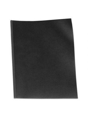 VeloBind Presentation Covers, 11 x 8-1/2, Black, 50/Pack