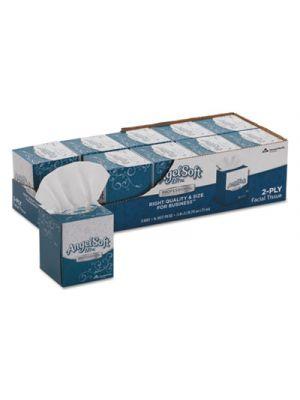ps Ultra Facial Tissue, 2-Ply, White, 7 3/5 x 8 1/2, 96/Box, 10 Boxes/Carton