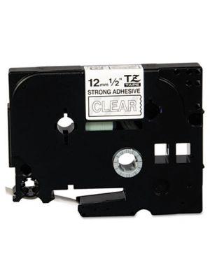 TZ Extra-Strength Adhesive Laminated Labeling Tape, 1/2