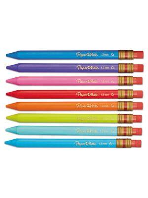 Mates Mechanical Pencils, 1.3 mm, Assorted, 8/Pack