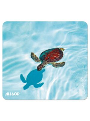 Naturesmart Mouse Pad, Turtle Design, 8 1/2 x 8 x 1/10