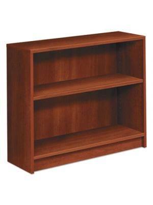 1870 Series Bookcase, Two Shelf, 36w x 11 1/2d x 29 7/8h, Cognac