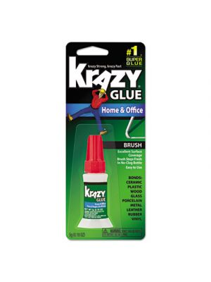 All Purpose Brush-On Krazy Glue, 5 g, Clear