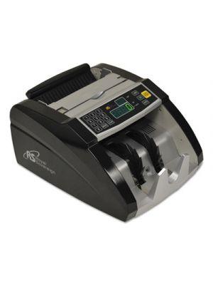 Electric Bill Counter, 1000/Bills/Min, 12 3/8 x 9 7/8 x 6 1/2, Black/Silver