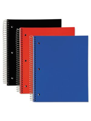 5 Subject, Poly Notebook, 11 x 8, Legal/Wide, Assorted, 180 Sheets