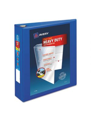 Heavy-Duty View Binder w/Locking EZD Rings, 2