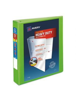 Heavy-Duty View Binder w/Locking EZD Rings, 1 1/2