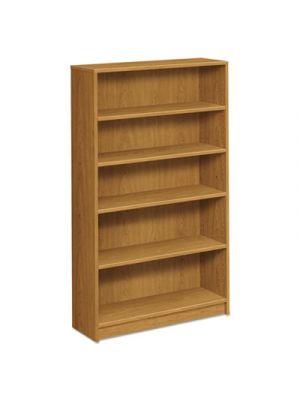 1870 Series Bookcase, Five Shelf, 36w x 11 1/2d x 60 1/8h, Harvest