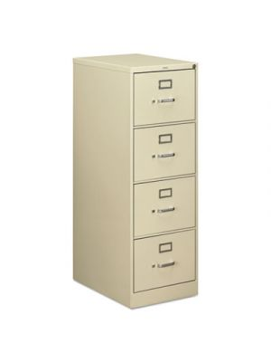 510 Series Four-Drawer Full-Suspension File, Legal, 52h x25d, Putty