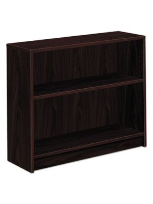1870 Series Bookcase, Two Shelf, 36w x 11 1/2d x 29 7/8h, Mahogany
