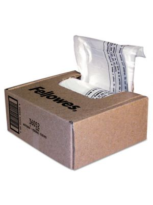 Shredder Waste Bags, 6-7 gal Capacity, 100/CT
