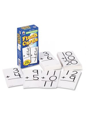 Flash Cards, Addition Facts 0-12, 3w x 6h, 94/Pack