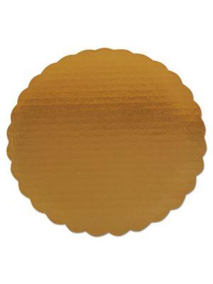 Cake Pad, Gold, 9