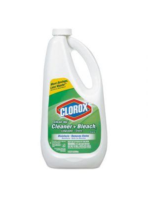 Clean-Up Bleach Cleaner, 32 oz Refill Bottle, 9/Carton